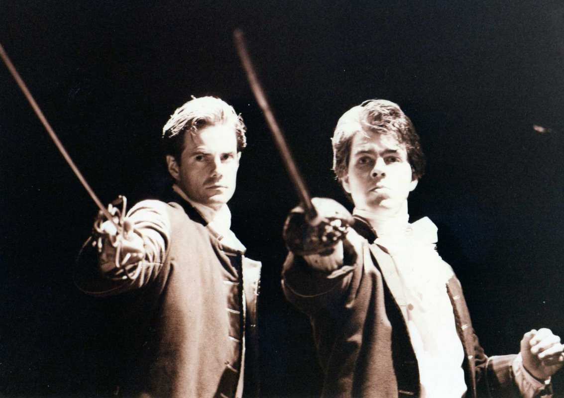Macbeth - Greenwich '95. Photo: Kieran Paul Crowder