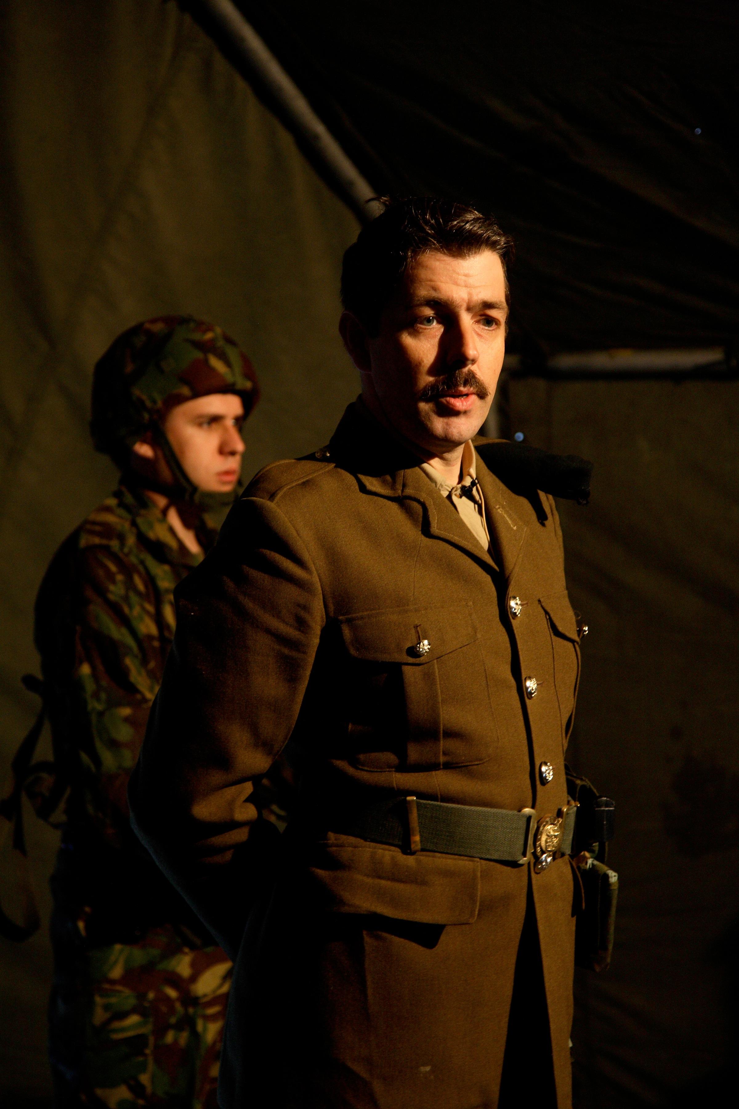 Beyond the Front Line - Salford '10. Photo: Simon Warner