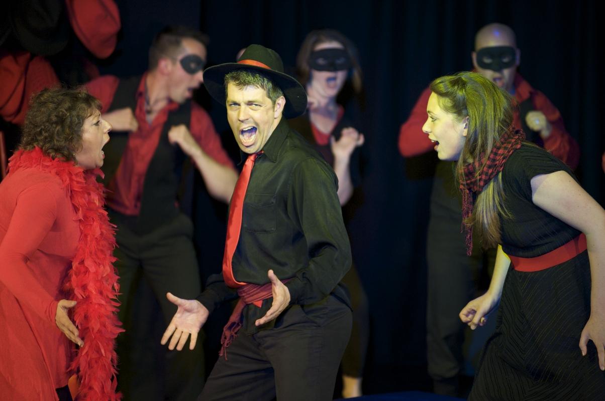 Showstopper! The Improvised Musical Edinburgh '09 - Photo: Gabrielle Motola www.gabriellemotola.com